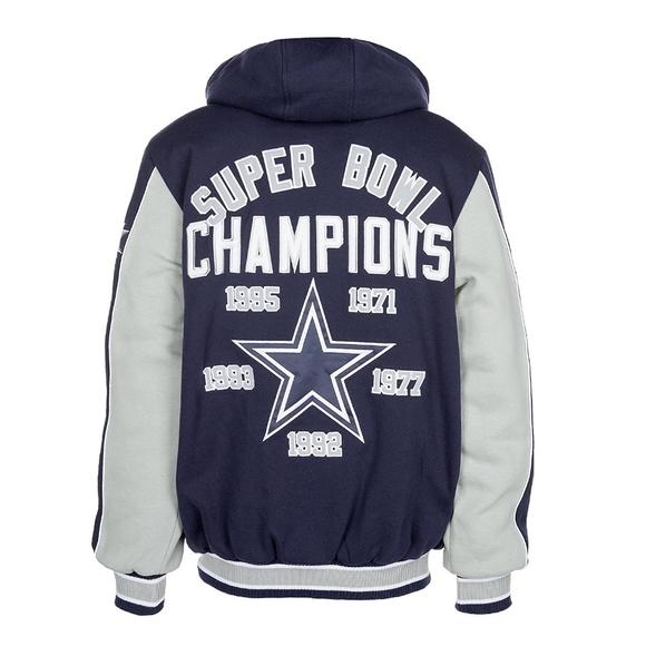 new style 4d867 a66f9 Dallas Cowboys 5X Super Bowl Champion Jacket NWT
